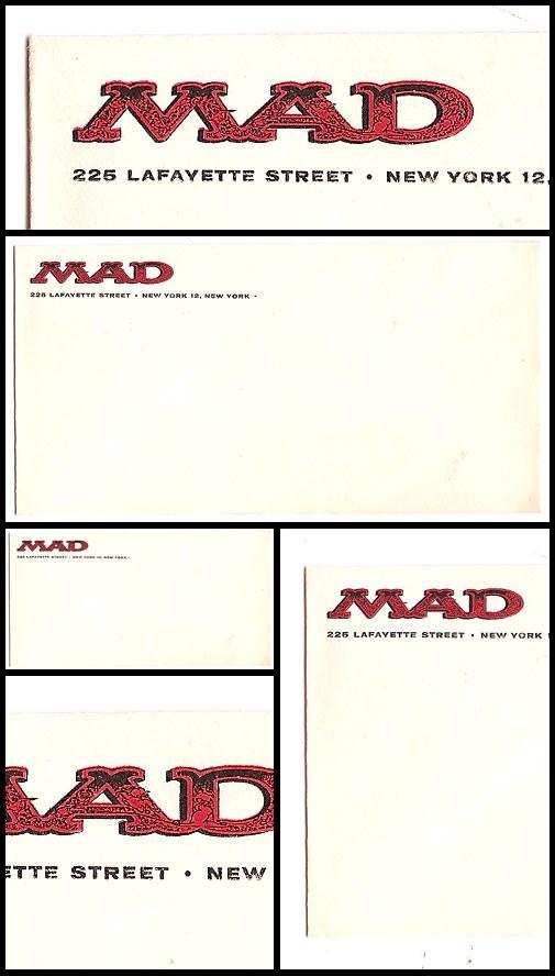03. Mad Envelope (1955-56)