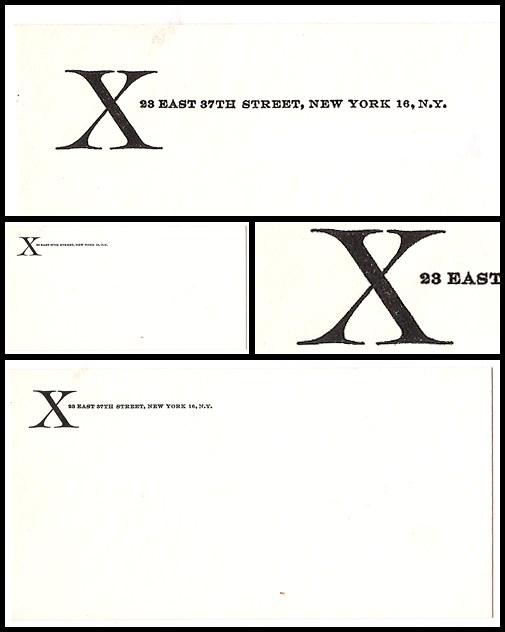 05. X Envelope (1956)
