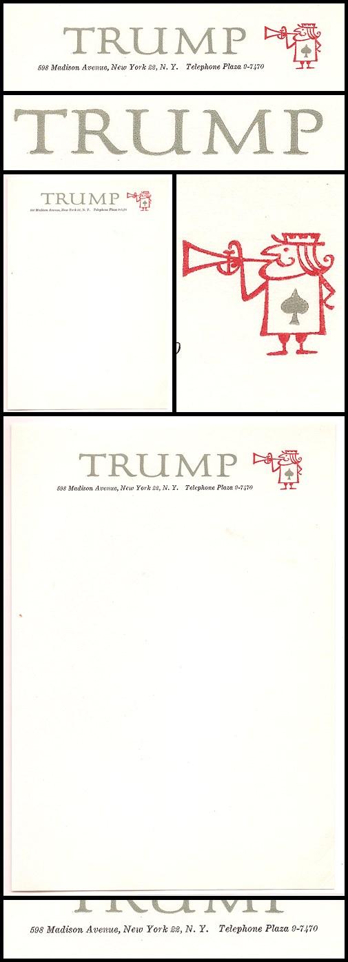 06. Trump Letterhead (1956-57)