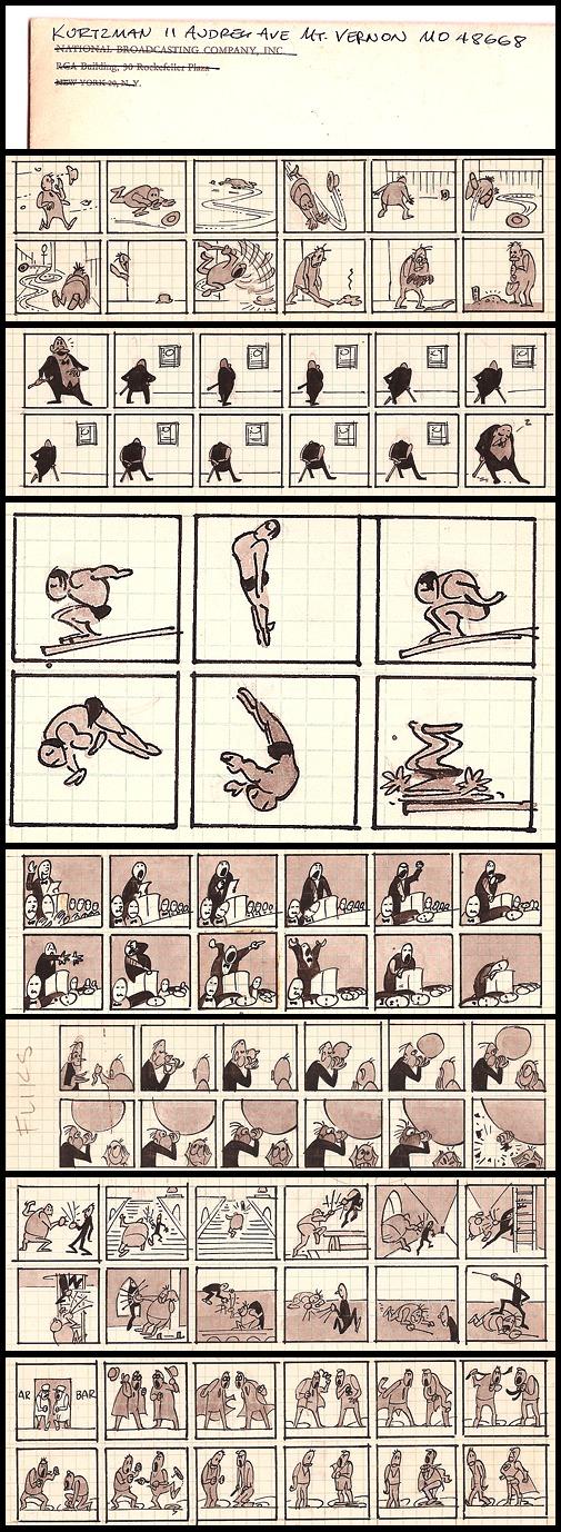 41. Fliks: Daily Strip Proposal, Pt. 1 (1959-1960?, Unpublished)