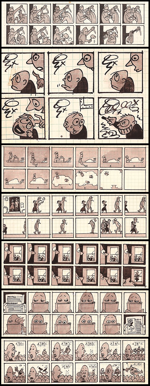 42. Fliks: Daily Strip Proposal, Pt. 2 (1959-1960?, Unpublished)